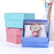 Kraft Paper Brown Square Cardboard Paper Watches Packaging Jewellery Paper Boxes wholesale Suppliers