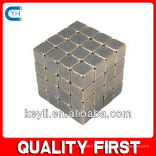 Cube Magnet 8x8x8 mm, aimant de néodyme - Revêtement de non-revêtement 6.72kg Pull (Nord)