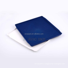 Custom avio pack eco friendly large square ABS plastic tray for aircraft