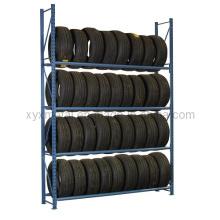 Warehouse Auto Reifen Racking 4s Store Selektiven Strahl Reifen Rack