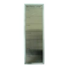 Aluminium-Rahmen-Magnetplatte (Edelstahl-Oberfläche)