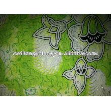 good design spun rayon printed fabric in stock