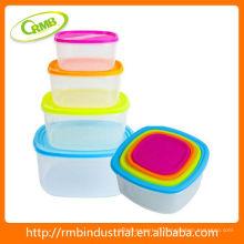 Conteneur de stockage de nourriture en plastique 8pcs (RMB)