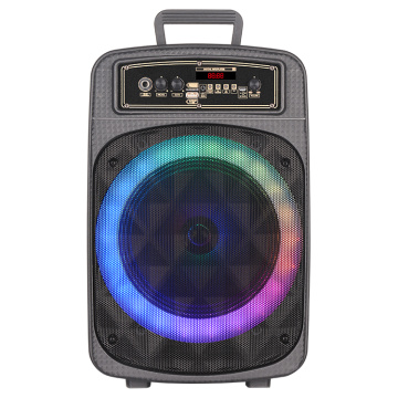 Speaker Trolley DJ 8 inci Dengan Bluetooth