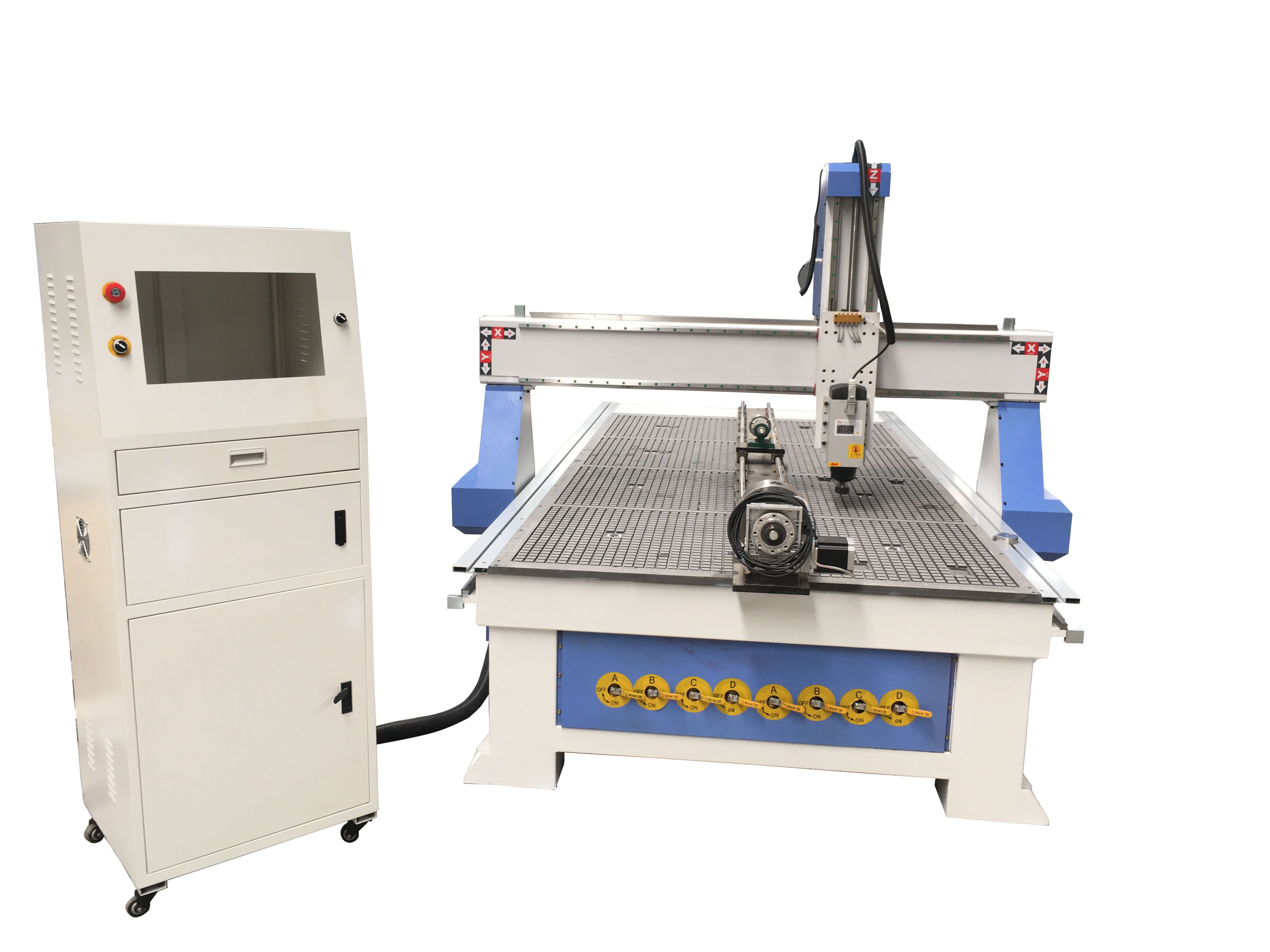 4 Axis_Rotary_CNC _machine