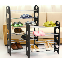 Multifunctional non-woven shoe rack