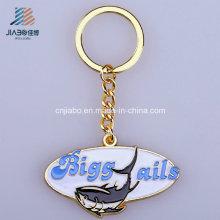 Fornecimento da China Chaveiro de Metal Oval Chaveiro de Metal Oval Personalizado