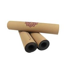Tapetes de yoga de corcho antideslizantes personalizados de Eco Friendly