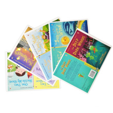 Colorful Cartoon Customized Children Story Book