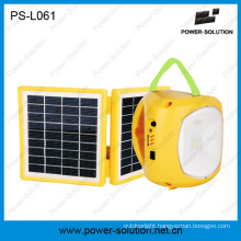 Solar Lantern with Mobile Phone Charger for Camping or Emergency (PS-L061)