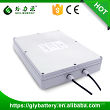 Banco solar de la batería solar del banco de 12v 100ah del tiempo profundo del ciclo de larga duración personalizado de la batería de la batería solar para la luz de calle