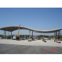 Prefab Tankstelle der Tankstelle