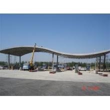 Prefab Petrol Gas Station Toll Station