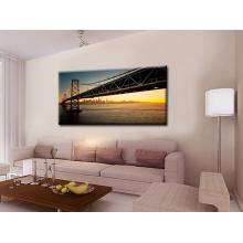 Pintura de paisaje del puente