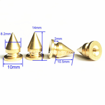 ScrewBack Spikes Cone Shaped Head