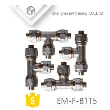 EM-F-B115 Tuyau en laiton chromé al-pex-al