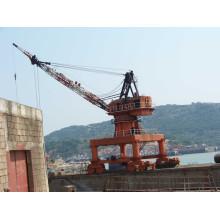 Electric Mobile Portal Marine Jib Crane (SSG-03)