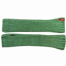 Леди мода акриловые трикотажные длинные манжеты перчатки без пальцев (YKY5424)