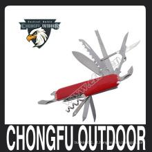 Multifuncional faca de sobrevivência de bolso para sobrevivência de acampamento chongfu nanjing