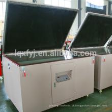 máquina automática da exposição da tela de seda do vácuo