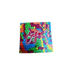 Etiqueta de couro colorido para Garment Hang Tag (HJL07)
