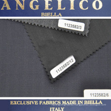 Italy Brand ANGELICO Worsted twill 100% wool fabric for men's suit