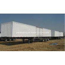 Semi-reboque de transporte de 40 toneladas e eixo