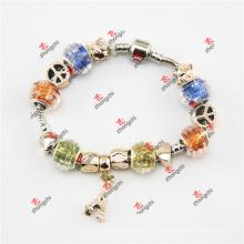 Moda serpente cadeia de contas de vidro dangles jóias pulseira (pod60229)