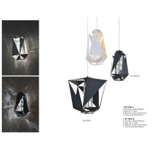 Modern Glass Carton Steel Pendant Light Decoration (M-100S-S/WH)