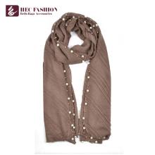 HEC Großhandel Außenhandel Mode Polyester Plaid Schal für die ganze Saison