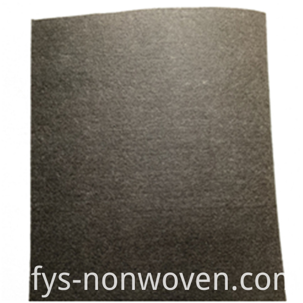 Soundproof nonwoven fabric