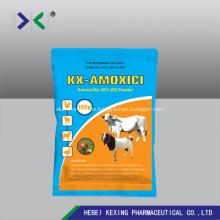 Animal polvo de solución de agua de amoxicilina