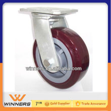 petites roues pivotantes / roulettes en acier inoxydable PU pivotantes