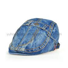 Fashion Denim IVY Baseball Cap, Sports Beret Hat