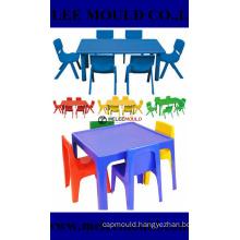 Plastic Preschool Chair Table Set Mould