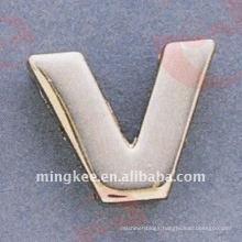 "Small Letter-""V"" Handbag's Decorative Accessories (O35-675A-V)"
