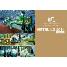 Vietbuild fair 2014 Mobiliario moderno de ratán