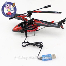 Large 3.5CH Radio Remote Electric Control RC Helicopter Metal Gyro with LED light