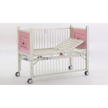 Epoxy coated Semi-fowler child bed B-35-2