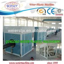 Máquina de produção de material tubos de PEAD reciclada