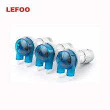 LEFOO LFP204 12v peristaltic pump dual direction peristaltic pump silicone tube