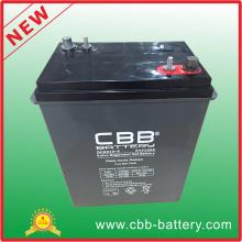 Cbb 6V 310ah bateria de gel de ciclo profundo para carrinho de golfe