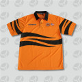 Quick dry mens manches courtes Salut-vis polo shirt