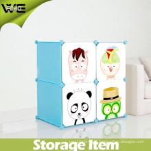 Plastic Wardrobe Closet Bedroom Folding Kids Storage Box