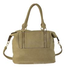 Ladies PU Handbag, Tote Bag with Top Closure and Inside Pockets