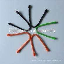 Laço de silicone flexível do laço / engrenagem flexível do cabo de silicone
