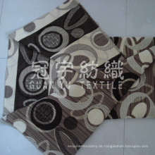 Polyester und Acryl Jacquard Chenille Stoff Sofa