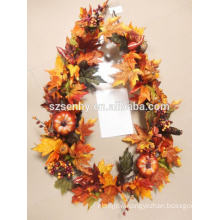Plastic Artificial Harvest Fall Floral Garland