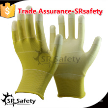 SRSAFETY 13gauge coated PU on palm working gloves.