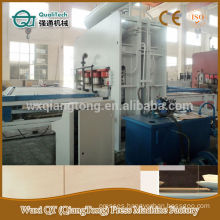 Qiangtong press machine for melamine board